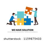 business consulting and... | Shutterstock .eps vector #1159875433