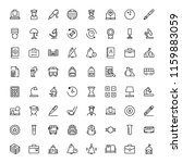 school icon set. collection of... | Shutterstock .eps vector #1159883059