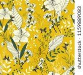 blooming  flowers. realistic... | Shutterstock .eps vector #1159889083