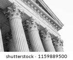Corinthian Columns Black White - Fine Art prints