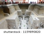 xian   jun 30 terracotta army... | Shutterstock . vector #1159890820