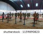 xian   jun 30 terracotta army... | Shutterstock . vector #1159890823
