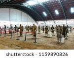 xian   jun 30 terracotta army... | Shutterstock . vector #1159890826