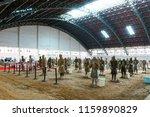 xian   jun 30 terracotta army... | Shutterstock . vector #1159890829