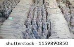 xian   jun 30 terracotta army... | Shutterstock . vector #1159890850