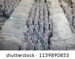 xian   jun 30 terracotta army... | Shutterstock . vector #1159890853