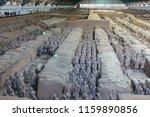 xian   jun 30 terracotta army... | Shutterstock . vector #1159890856