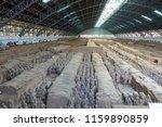 xian   jun 30 terracotta army... | Shutterstock . vector #1159890859