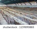 xian   jun 30 terracotta army... | Shutterstock . vector #1159890883