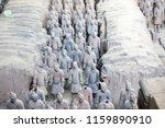 xian   jun 30 terracotta army... | Shutterstock . vector #1159890910