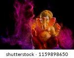 lord ganesha   ganesha festival | Shutterstock . vector #1159898650
