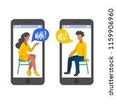 vector illustration for online... | Shutterstock .eps vector #1159906960