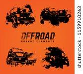 Off Road Logo Elements Set....