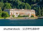 villa d'este on a sunny summer... | Shutterstock . vector #1159918849