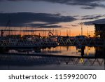 poole quayside at dusk   Shutterstock . vector #1159920070