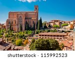 San Domenico church, Siena, Italy