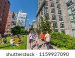 new york  usa   may 25  2018 ...   Shutterstock . vector #1159927090
