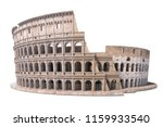 colosseum  coliseum isolated on ... | Shutterstock . vector #1159933540