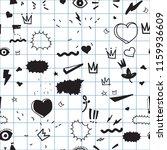 universal trend hand drawing...   Shutterstock .eps vector #1159936609