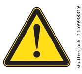danger sign  danger icon | Shutterstock .eps vector #1159938319