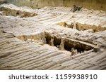 xian   jun 30 terracotta army... | Shutterstock . vector #1159938910