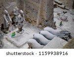 xian   jun 30 terracotta army... | Shutterstock . vector #1159938916