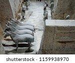 xian   jun 30 terracotta army... | Shutterstock . vector #1159938970