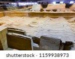 xian   jun 30 terracotta army... | Shutterstock . vector #1159938973