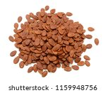 seed of watermelon isolated on... | Shutterstock . vector #1159948756