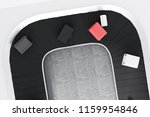 top view of gray  white and... | Shutterstock . vector #1159954846