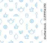 seamless outline pattern with... | Shutterstock .eps vector #1159956190
