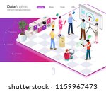 people are in the office ... | Shutterstock .eps vector #1159967473