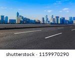 the skyline of the urban... | Shutterstock . vector #1159970290