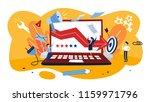 demarketing concept. business... | Shutterstock .eps vector #1159971796