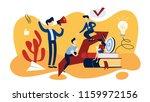 mentoring concept. idea of... | Shutterstock .eps vector #1159972156