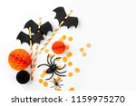 halloween holiday decorations.... | Shutterstock . vector #1159975270