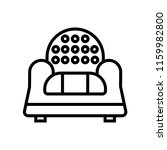 couch icon vector isolated on... | Shutterstock .eps vector #1159982800
