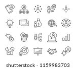 set of work icons  such as... | Shutterstock .eps vector #1159983703