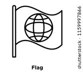 flag icon vector isolated on...