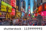 new york city united states  ... | Shutterstock . vector #1159999993