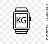 smartwatch vector icon isolated ... | Shutterstock .eps vector #1160005276
