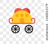 carriage vector icon isolated... | Shutterstock .eps vector #1160012179