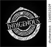 indigenous written on a... | Shutterstock .eps vector #1160013109