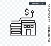 mortgage vector icon isolated... | Shutterstock .eps vector #1160019130