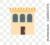 building vector icon isolated... | Shutterstock .eps vector #1160021476