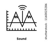 sound icon vector isolated on...