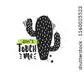 vector hand drawn illustration. ... | Shutterstock .eps vector #1160025523