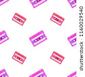 retro seamless background with... | Shutterstock .eps vector #1160029540
