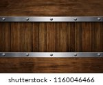 wood template on plank... | Shutterstock . vector #1160046466