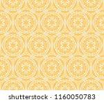 floral ornament. modern... | Shutterstock .eps vector #1160050783